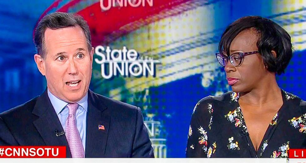 Santorum slams Democrats for 'demonizing' Laura Ingraham 'She has a long track record of responsible journalism'