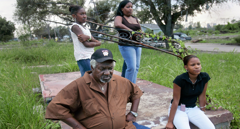 Behind bright facade, Mississippi coast still battles Hurricane Katrina difficulties