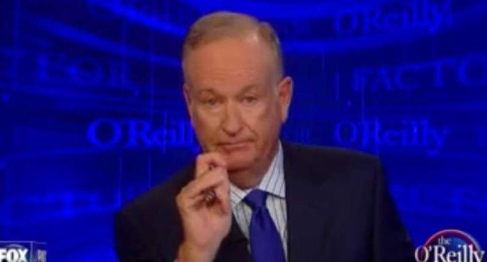 Bill O'Reilly threatens progressive media Glenn Beck-style for supporting #BlackLivesMatter
