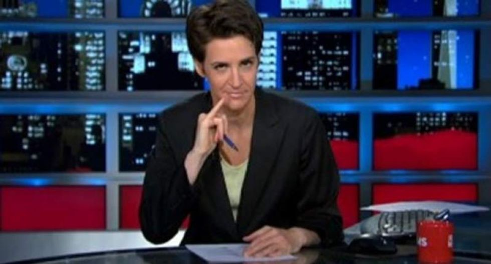 Rachel Maddow warns you about the next ALL-CAPS email from your Fox-loving uncle