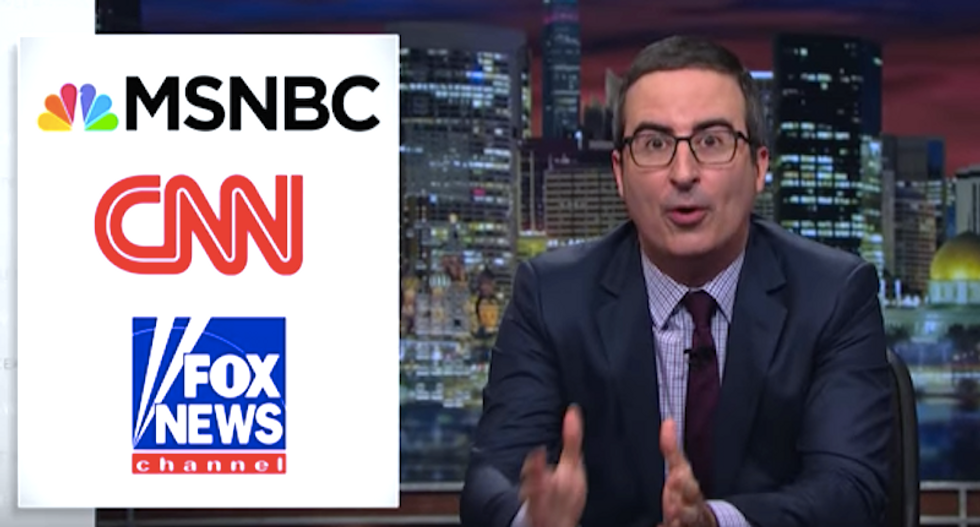 John Oliver hilariously trolls Trump with educational ads airing during TV shows the president watches