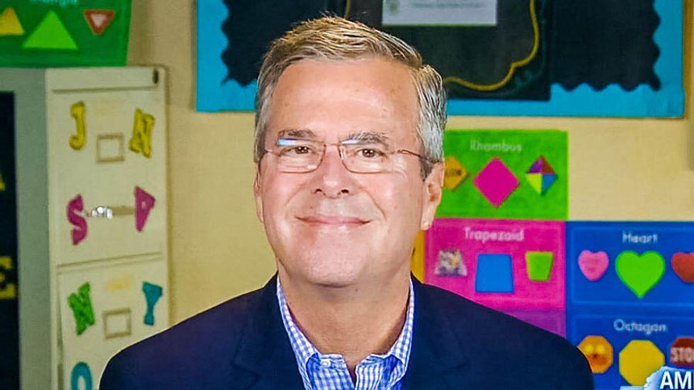 Trump battles Jeb Bush, other Republicans at debate
