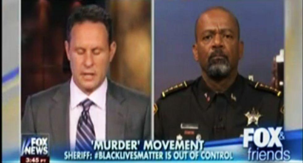 Fox News brands Black Lives Matter as a 'murder movement' during discussion of slain Texas deputy