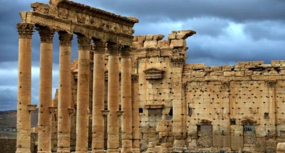 Blast at Syria's Palmyra prompts fears for famed temple