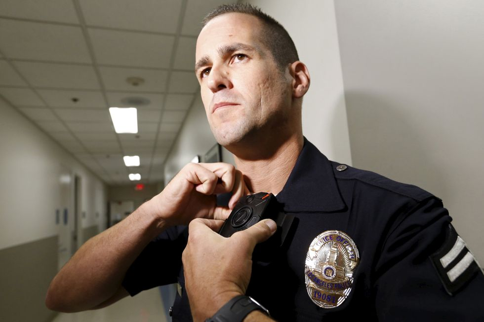 LAPD begins issuing body cameras to patrol officers
