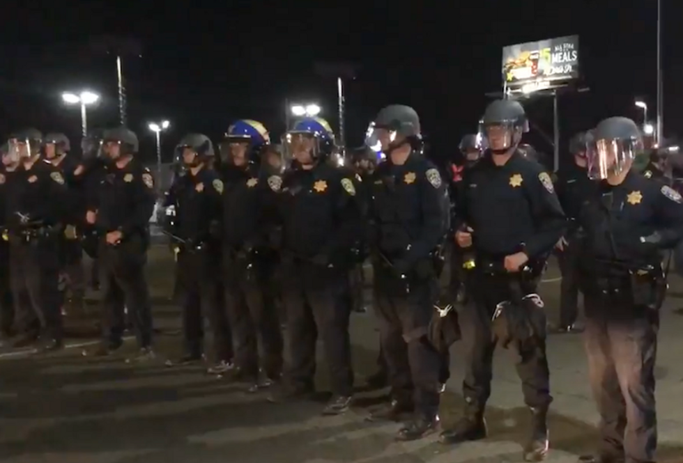 WATCH: Police clash with Stephon Clark protesters in Sacramento