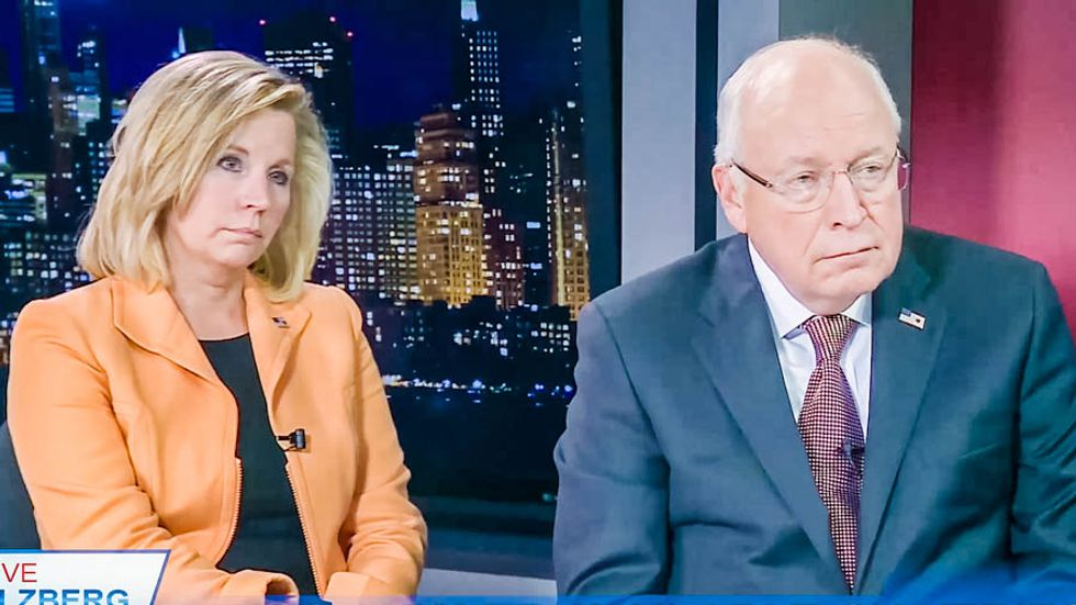 WATCH: Dick and Liz Cheney school conservative host on why Kim Davis has 'obligation' to serve gays