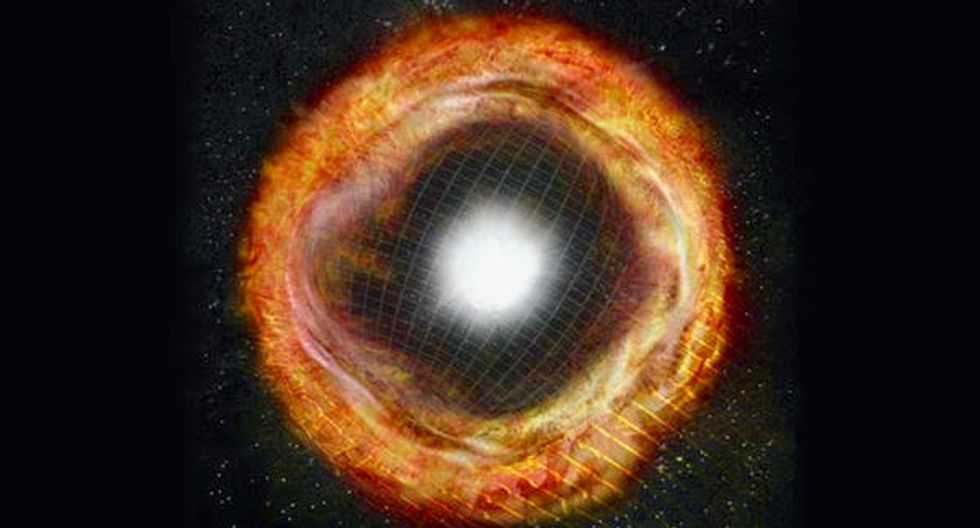 Scientists spotted a supernova just hours after it exploded