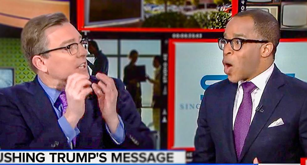 MSNBC pundit bulldozes Sinclair defender with lesson on free press: 'Our role is to be a check and balance'