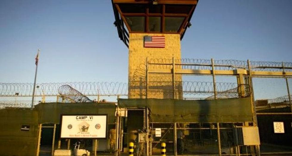 Half of Guantanamo inmates need indefinite lockup: Pentagon chief