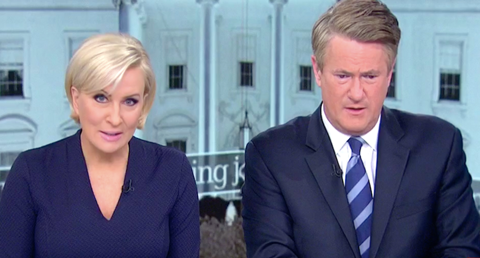 'Extremely dangerous to our democracy': MSNBC's Joe and Mika shame Sinclair anchors for reciting pro-Trump propaganda