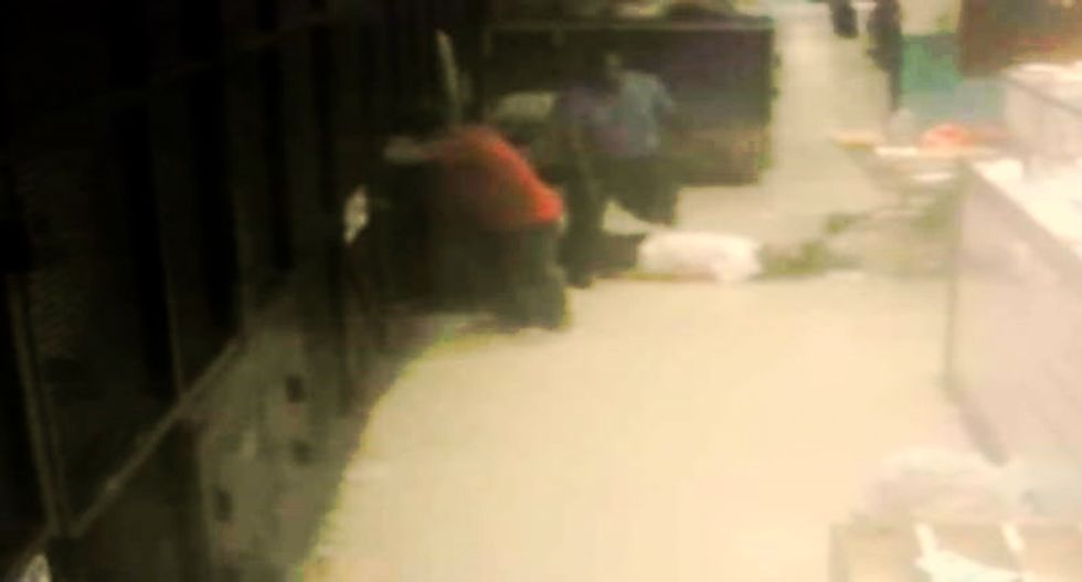 Footage confirms Rikers Island guard ignored diabetic inmate's request for help before dying