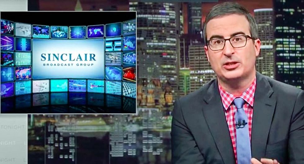 Sinclair angrily lashes out at critics upset over 'our well-researched focus on fair and objective reporting'