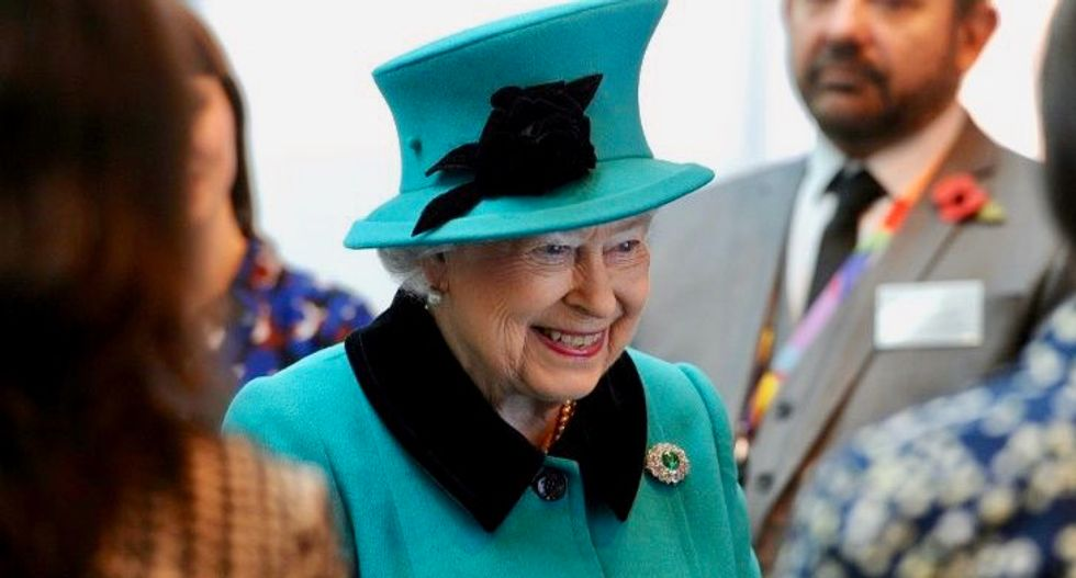 Britain's 90-year-old Queen reduces royal duties
