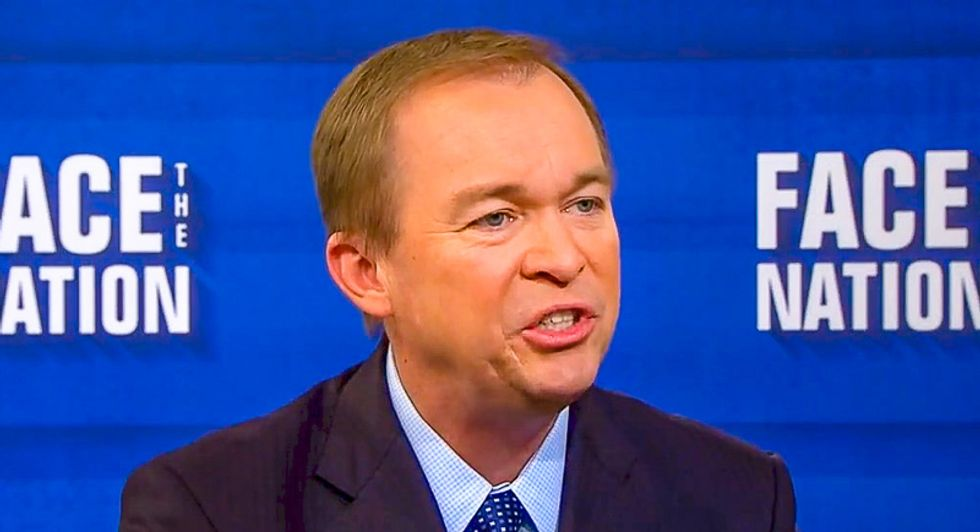 WATCH: OMB Director Mulvaney insists the government wouldn't really shut down because offices close on the weekend