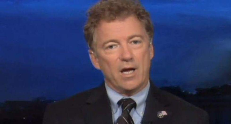 Sen. Rand Paul airs his Festivus grievances — and then honors bipartisanship