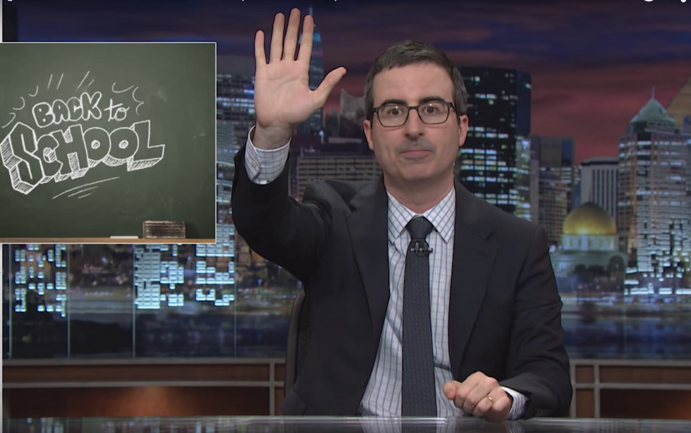 John Oliver: Teachers will say that you'll use higher math as an adult — but 'that is bullsh*t'