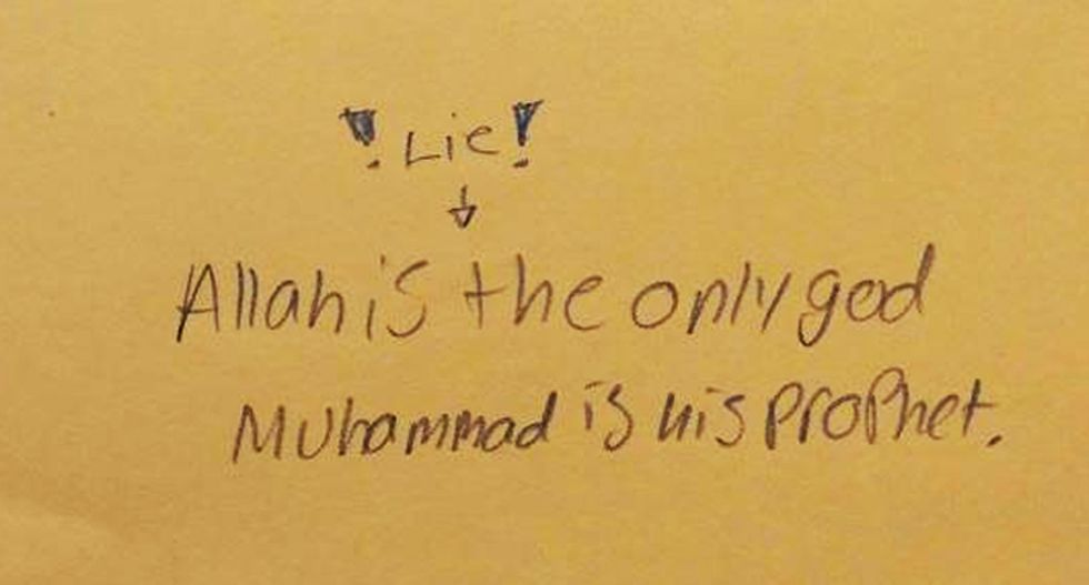 Angry TN mom: School forcing a 'profession of Islamic faith' with one-day history lesson