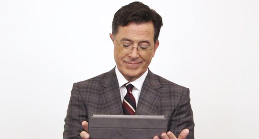 'Mother*cker' Stephen Colbert gets hosting advice from Conan, Kimmel, Maher and John Oliver