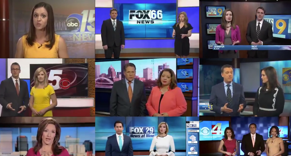 Sinclair affiliate issues ominous warning to staffers: 'Giving statements to the media can have huge implications'