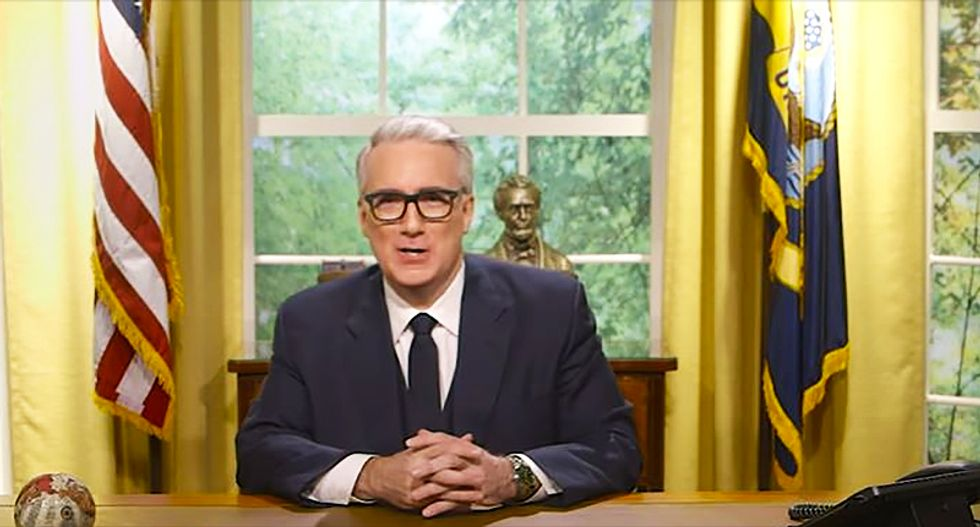'Tell it to the grand jury!': Olbermann calls for a federal investigation into Trump's 'dangerous presidency'
