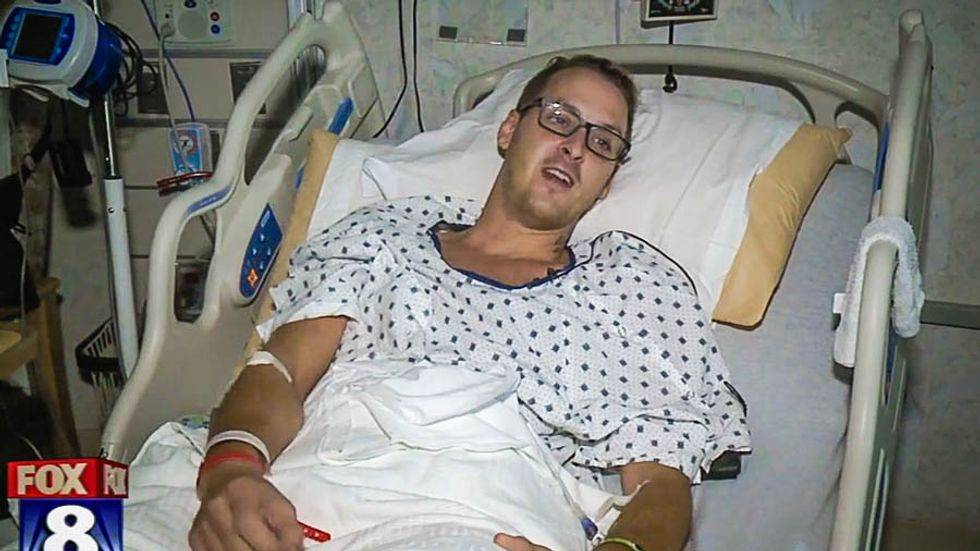 Gay man left with bleeding brain and hearing loss after he's beaten by suspect yelling anti-gay slurs