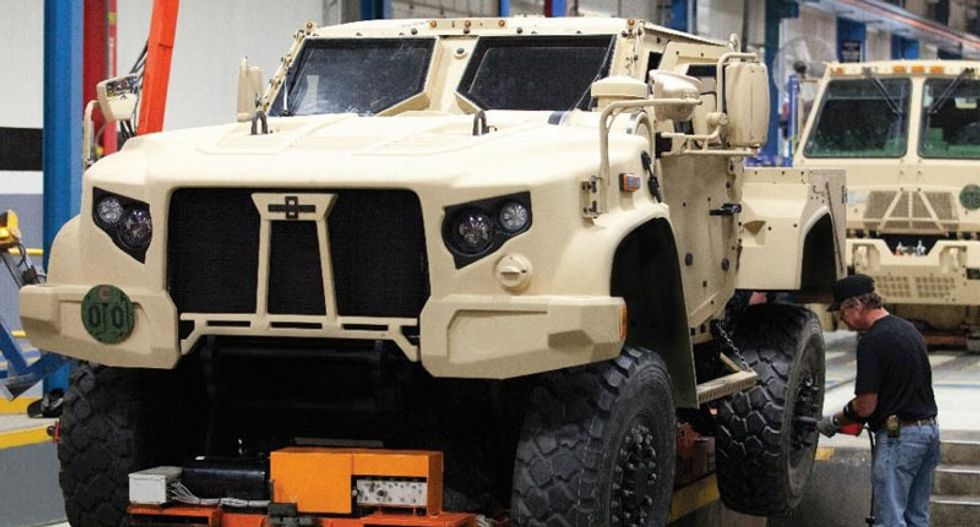 Lockheed Martin protests new armored truck that will replace Humvees
