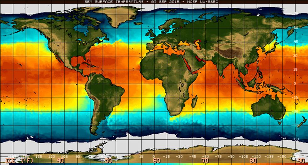 Current El Nino third-strongest on record -- expected to last until spring