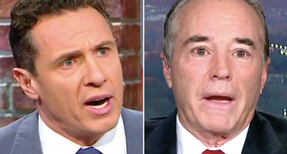 'Zero chance': CNN's Chris Cuomo slams GOP lawmaker's call to 'move on' from Flynn