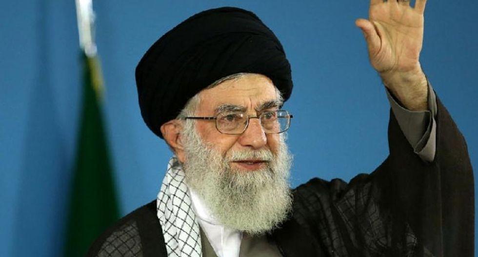 Iran's Ali Khamenei says the world opposes Trump's decisions: TV