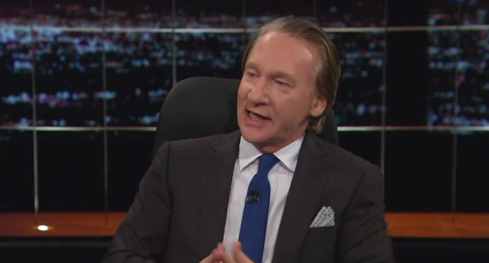 Bill Maher: When Kim Davis uses God's 'rule book' to deny same-sex marriage, it's the same as 'Sharia law'