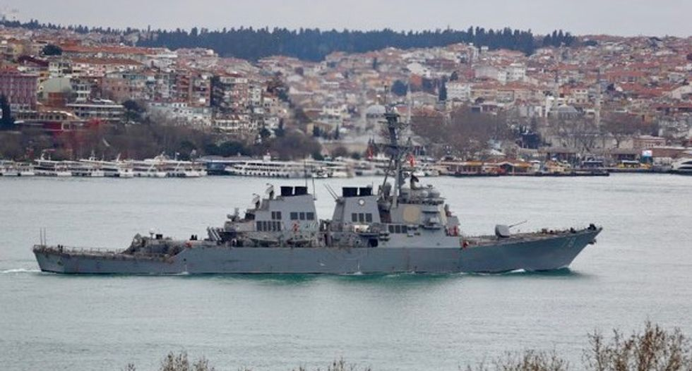 Russian jets in 'unsafe' encounters with destroyer: US official