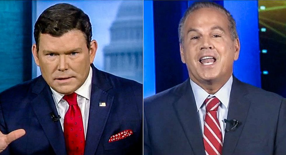 WATCH: Dem rep. strangles Fox News host with Trump's 'criminal acts' after he twists the truth on Mueller