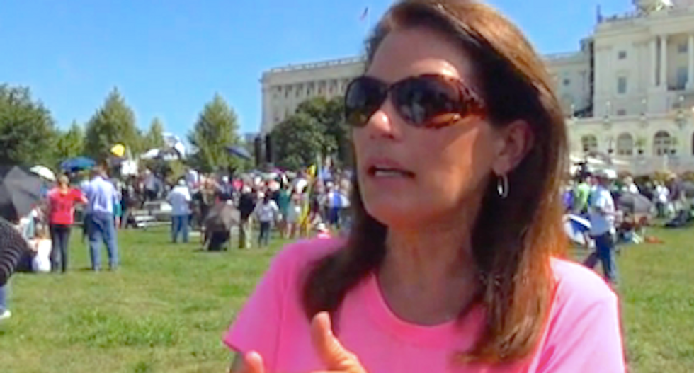 Michele Bachmann: US must send message of 'peace' to Iran by bombing nuclear sites -- maybe with nukes
