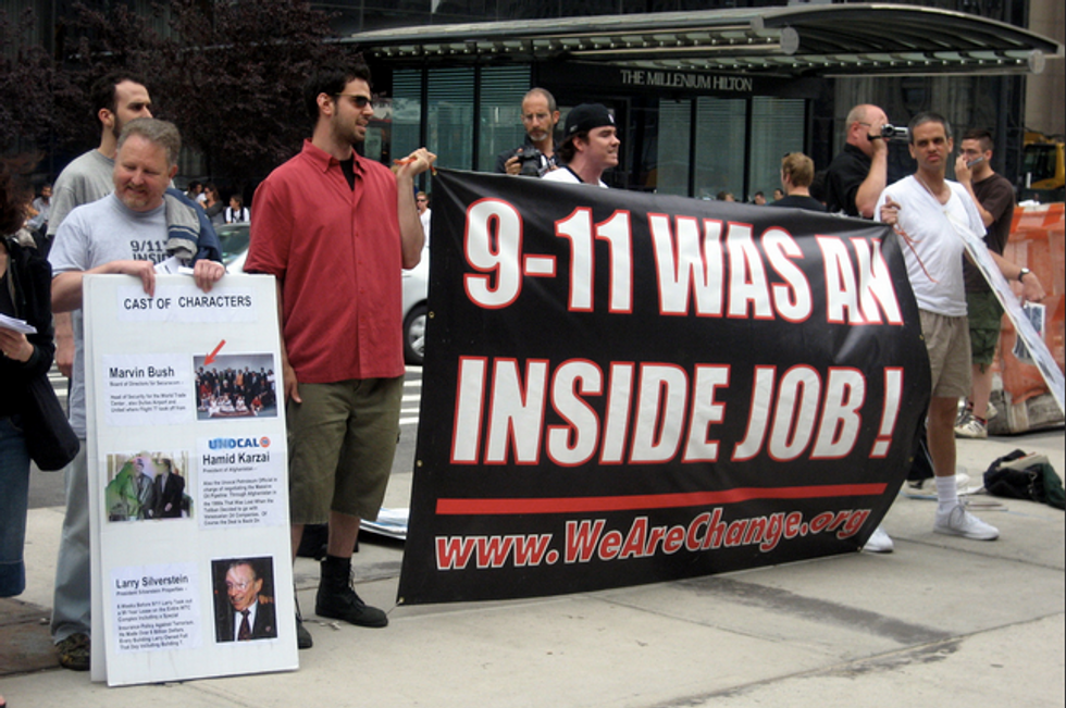 Here's our handy guide to 9/11 conspiracy theories -- and how we know they're b*llshit