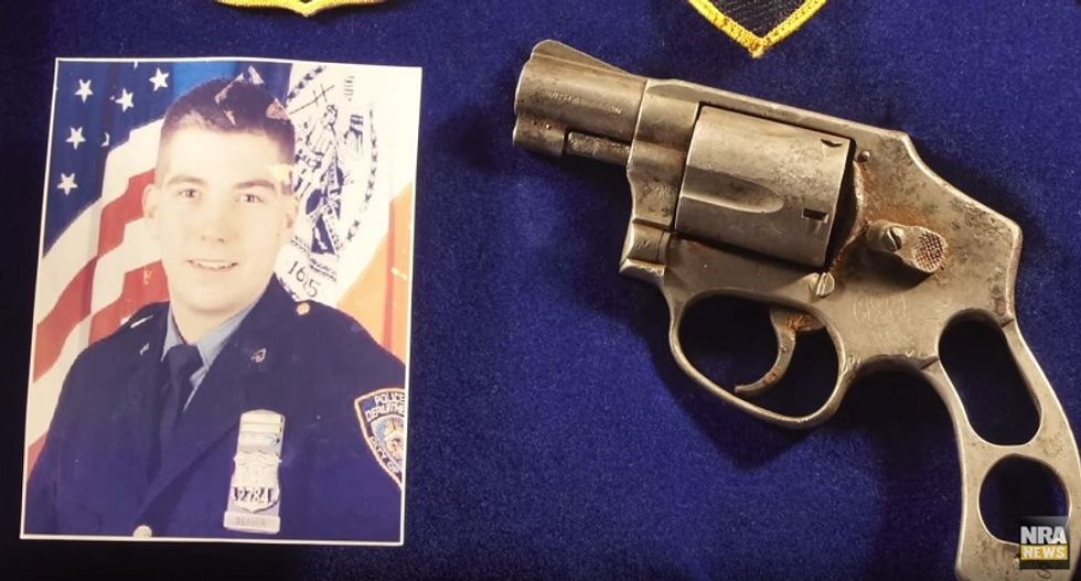 As nation remembers fallen victims of 9/11, NRA honors revolver that survived