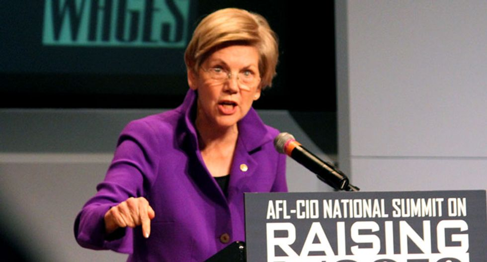 Elizabeth Warren to Ted Cruz: You want a fight over Planned Parenthood? Bring it on