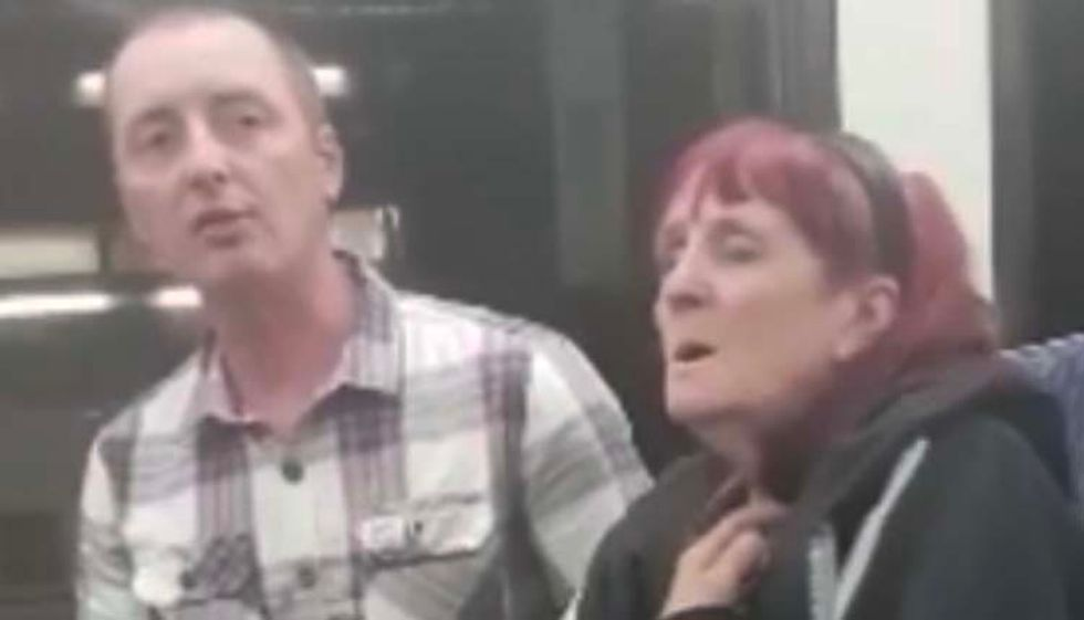 'Your god rapes people'; Man chased off train after racist rant attacking Muslims