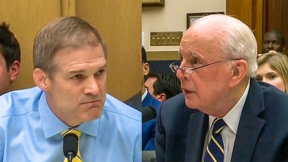 Hearing erupts in laughter at Jim Jordan after John Dean humiliates him with lesson on parliamentary rules