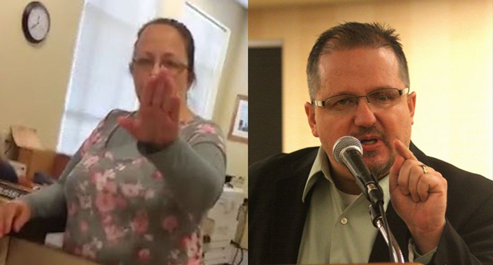 Kim Davis doesn't want a Bundy Ranch, tells armed militia group to stay away