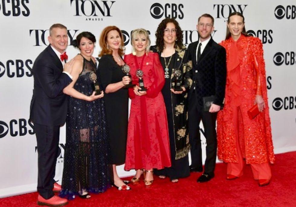 Musical inspired by Greek mythology wins at Tony Awards