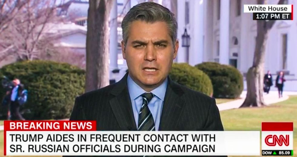 CNN's Jim Acosta slams Trump for ducking Russia questions by only calling on right-wing news outlets