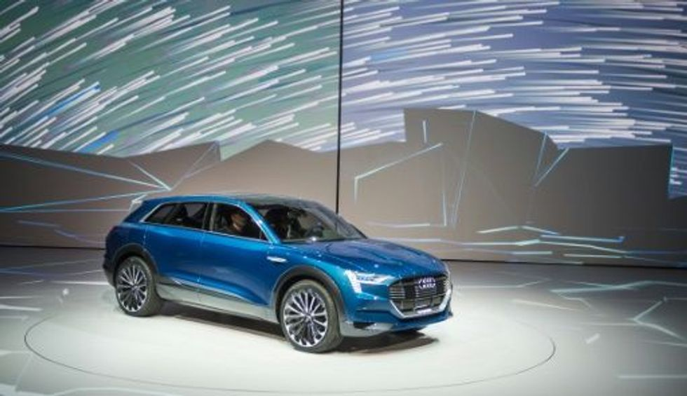 German automakers take on Tesla in race of electric cars