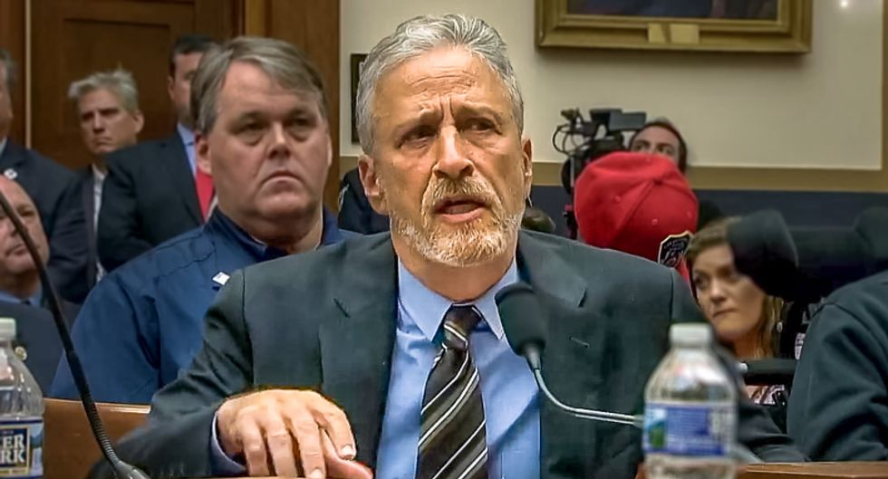 Jon Stewart shreds Congress in testimony on 9/11 responders: 'I'm tired of hearing it's a New York issue'