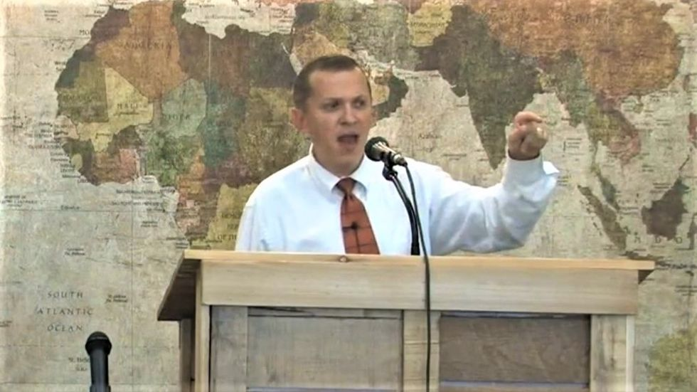 Right-wing pastor goes off the rails against 'sodomites' ahead of his 'Make America Straight Again' conference