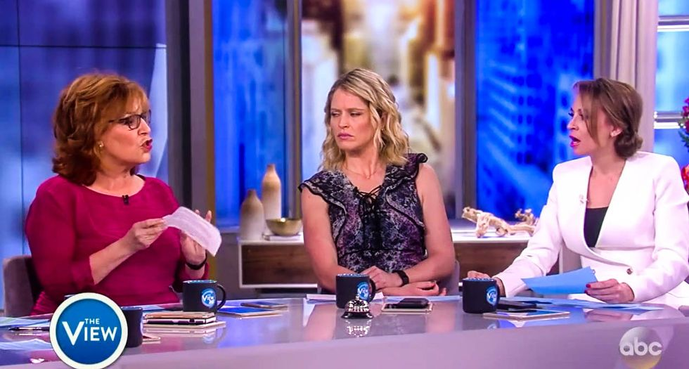 'They don't care!': 'The View' blows up as Joy Behar says GOP 'sell their souls' to cover for Trump