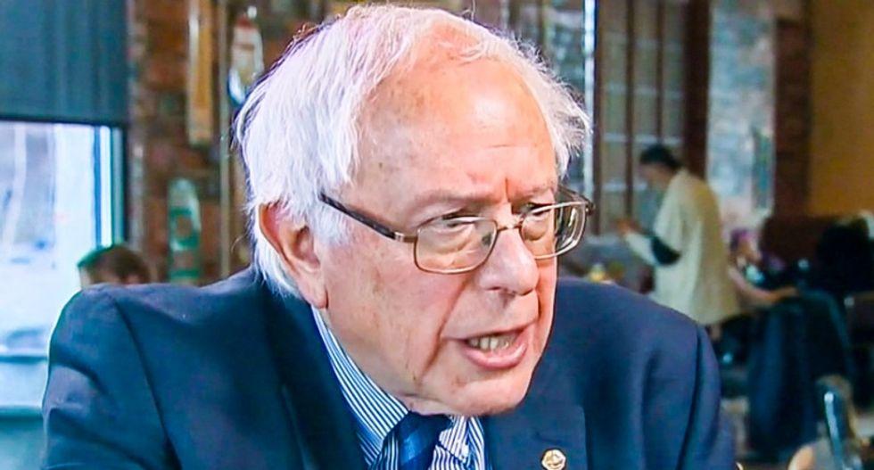 Bernie Sanders smacks down O'Reilly Factor 'ambush' reporter Jesse Watters