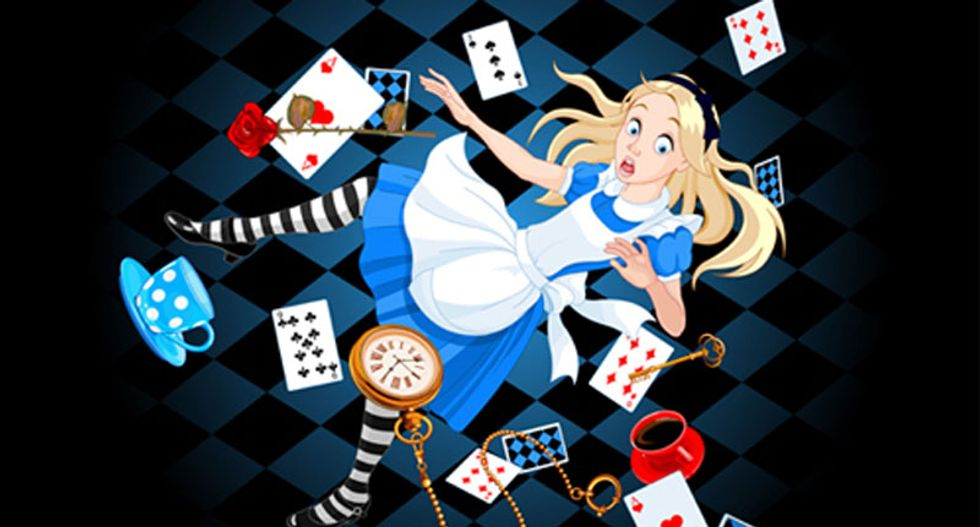 Here's how neuroscientists used Alice in Wonderland to pinpoint psychosis