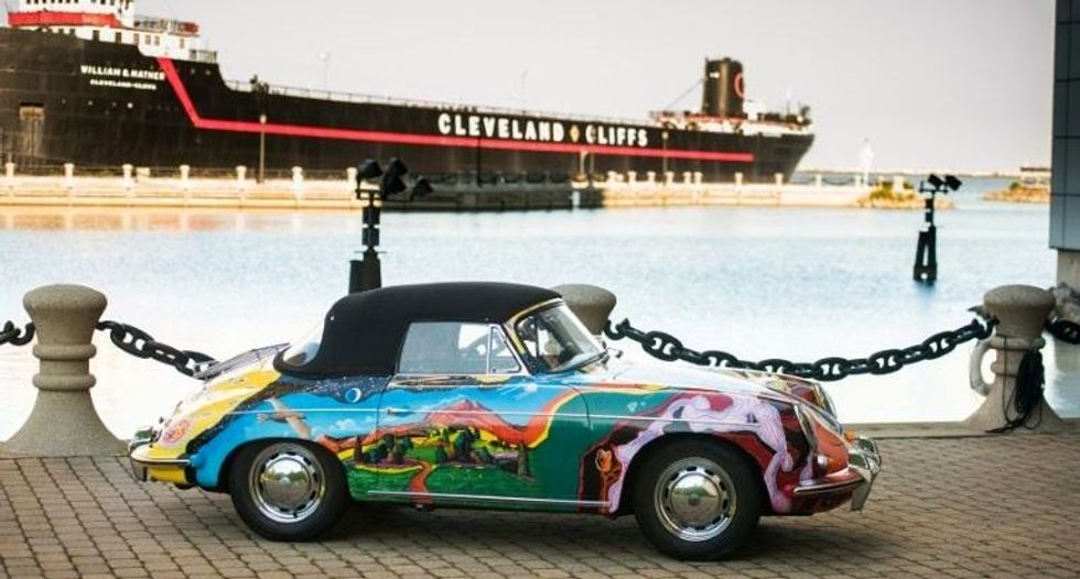 Janis Joplin's psychedelic Porsche expected to sell for more than $400,000 at auction