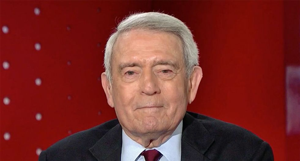 Dan Rather delivers brilliant – and scathing – viral response to Trump's National Emergency admission